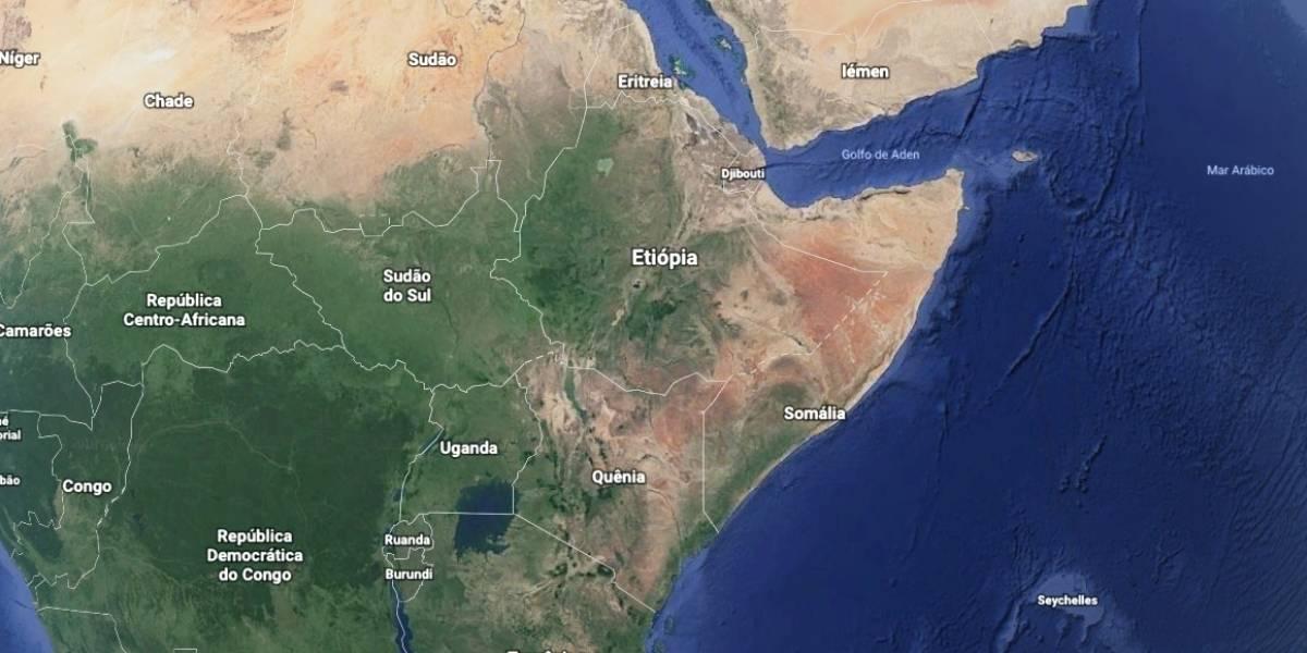 Como o continente africano pode se dividir em dois