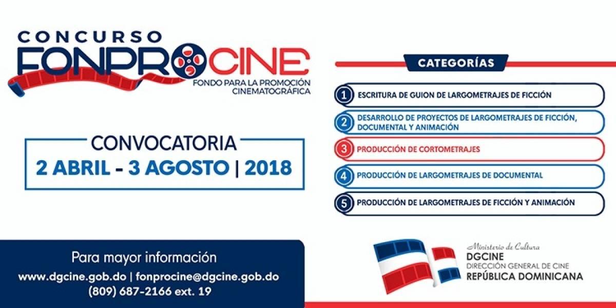 DGCINE inicia convocatoria concurso FONPROCINE 2018
