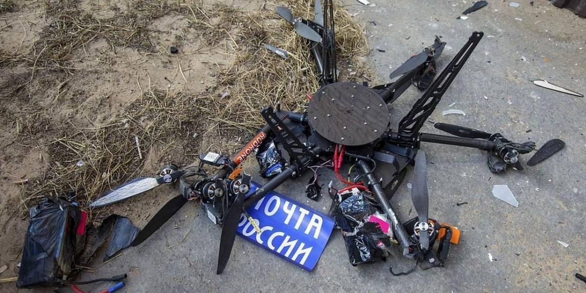 El primer drone del servicio postal de Rusia se estrelló en su vuelo inaugural