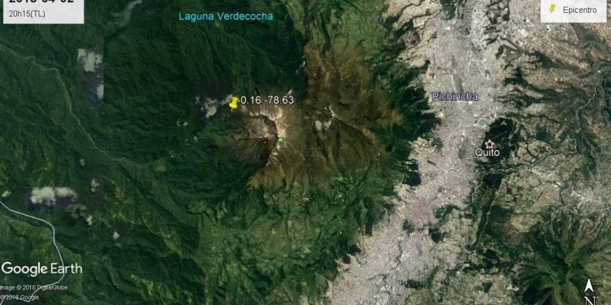 Sismo en Quito podría tener relación con actividad del Guagua Pichincha