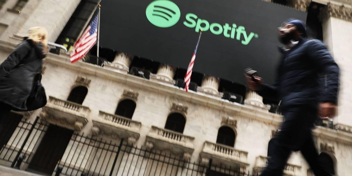 Spotify realiza un sorprendente debut en la bolsa de Nueva York