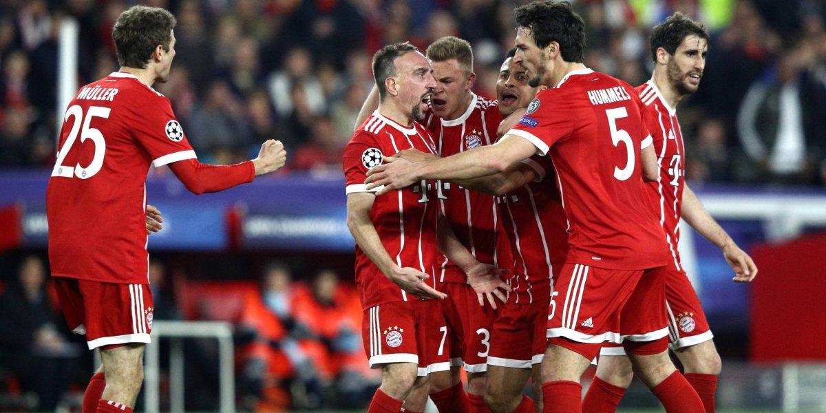 Un opaco Bayern no necesitó al lesionado Vidal para golpear al Sevilla en la Champions