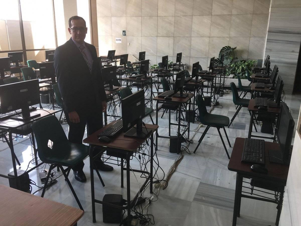 secretario de la comisión de postulación de postulación a fiscal general Luis Ruano