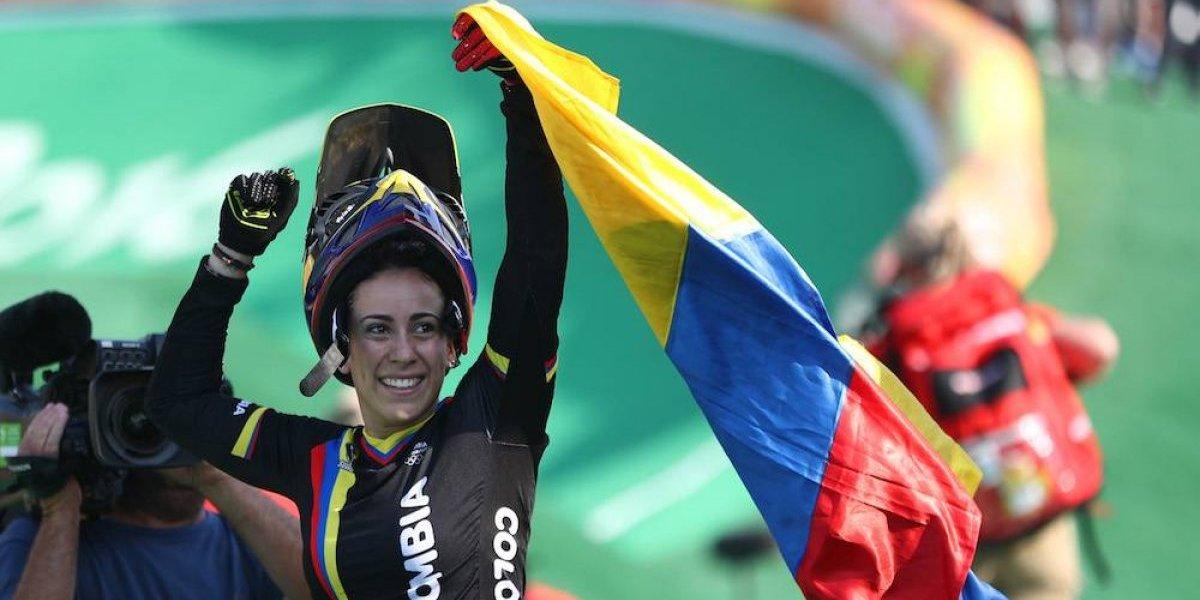 Mariana Pajón se aleja de las competencias por la 'enfermedad del beso'
