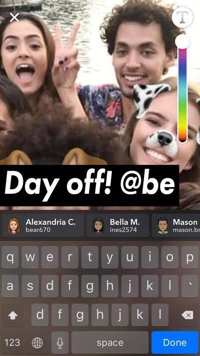 Snapchat introducirá llamadas grupales y etiquetas en sus historias