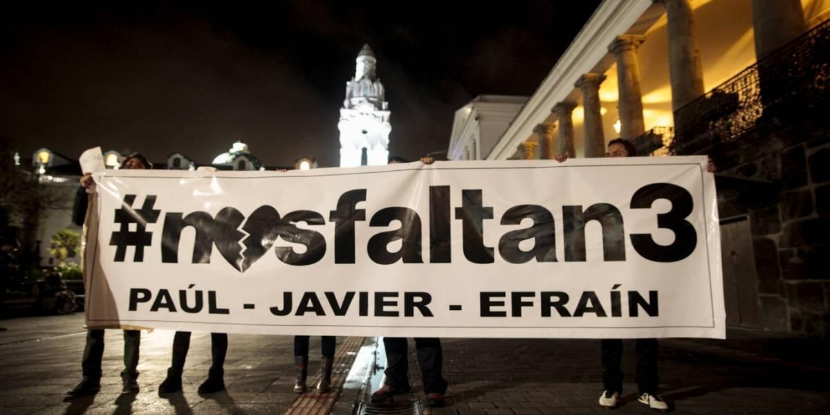 Familiares de periodistas secuestrados piden la ayuda del papa Francisco