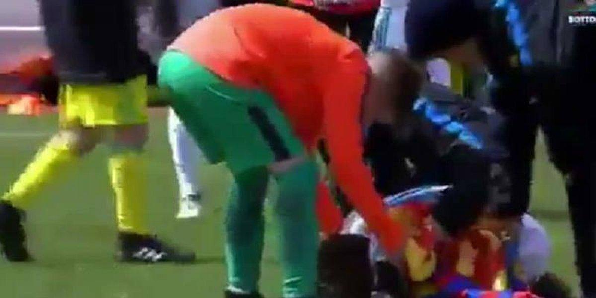 Cristiano marcó otro gol de chilena