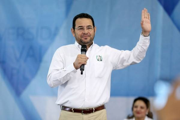 Presidente Jimmy Morales