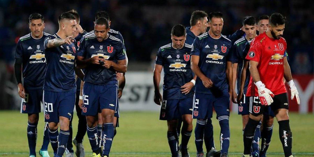 """Le cuesta con los """"che"""": la U aumentó su racha negativa contra argentinos en torneos internacionales"""