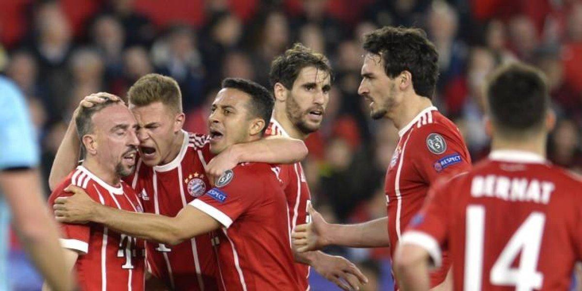 El Bayern Munich se acerca a las semifinales tras golpear primero al Sevilla