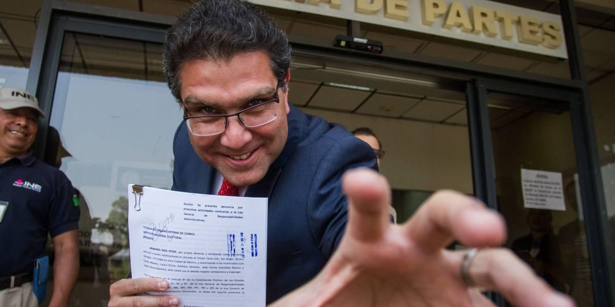 Ríos Peter denuncia a funcionario del INE por faltas al debido proceso