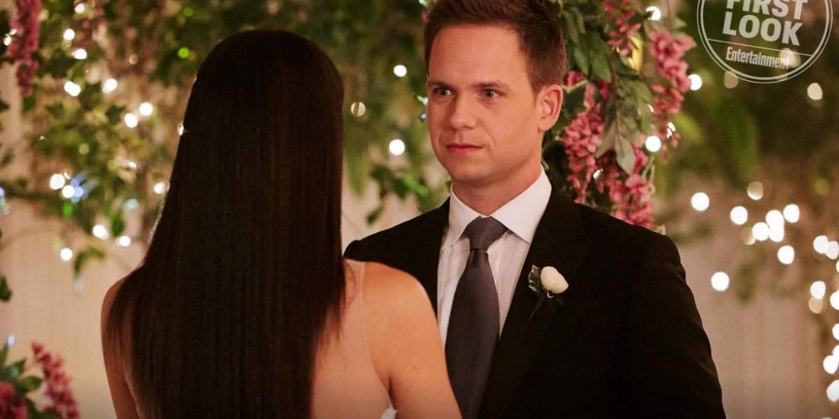 Já viu a Meghan Markle casando em Suits? Dá uma olhada nas fotos da série