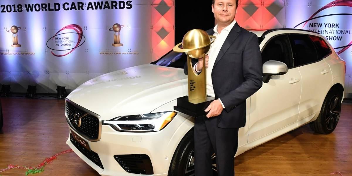 """Volvo XC60 gana """"World Car"""" del año 2018 en el Auto Show de Nueva York"""