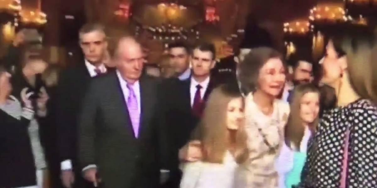 Encontronazo entre Doña Sofía y la reina Leticia el día de Pascua