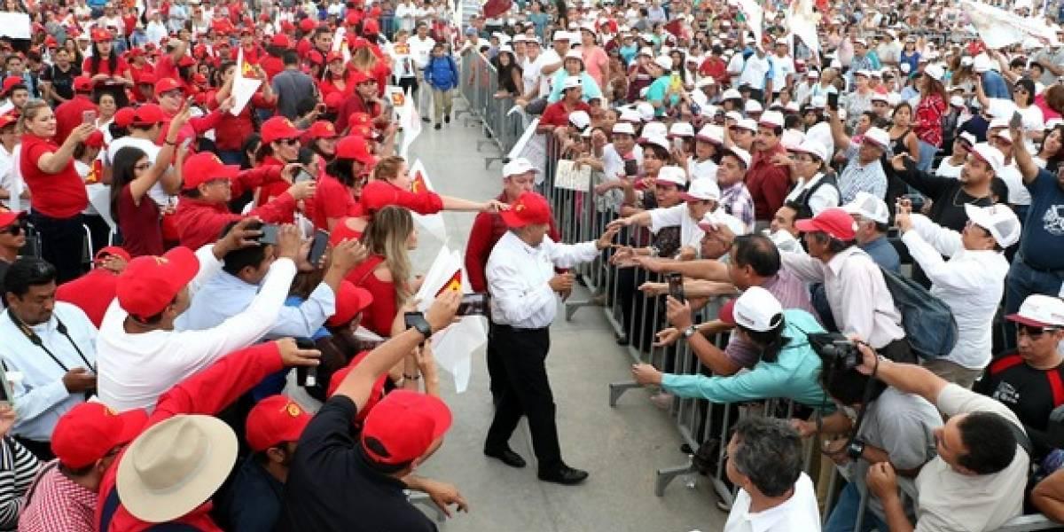 Intentan boicotear gira de AMLO en Coahuila y Durango