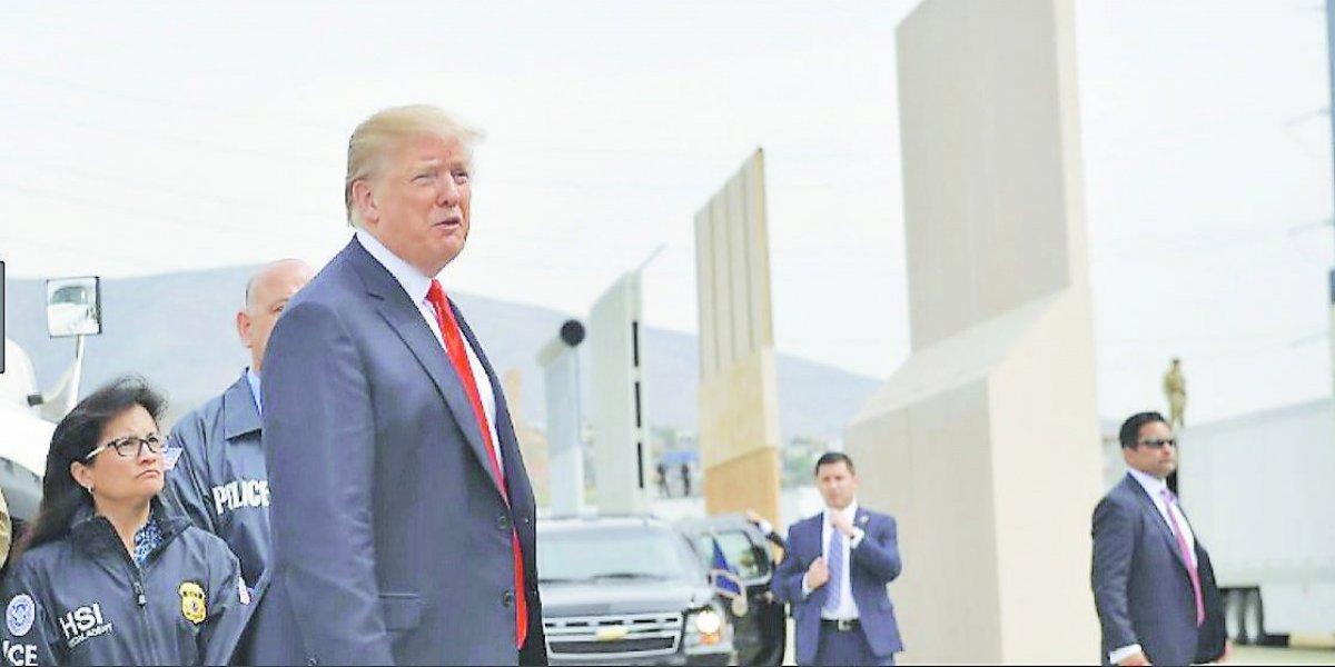 Trump amenaza con enviar tropas a la frontera con México