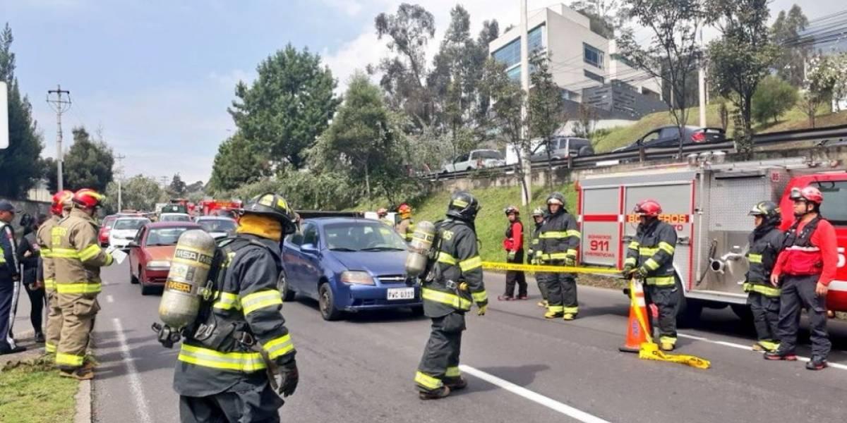 Se reporta accidente de tránsito en la avenida Antonio José de Sucre y Mañosca