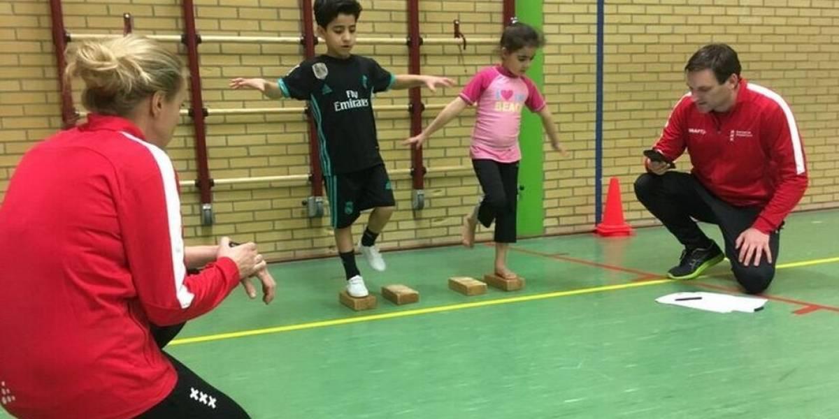 El gimnasio para que los niños aprendan desde pequeños a manejar su actividad física