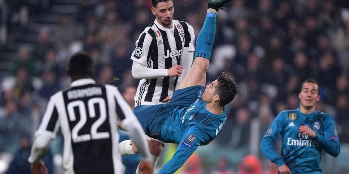 Cristiano Ronaldo vuelve a marcar otro golazo de chilena
