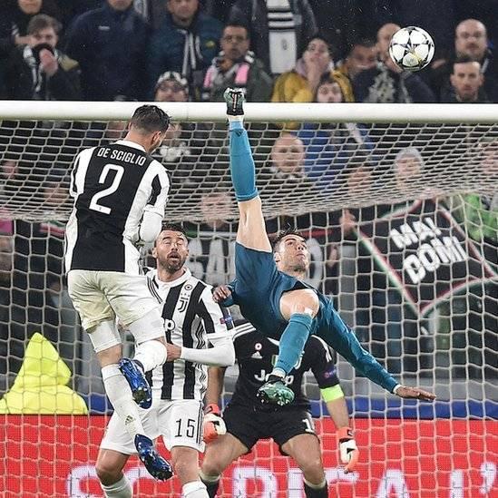 Golazo de chalaca: la impresionante acrobacia de Cristiano Ronaldo ante Juventus