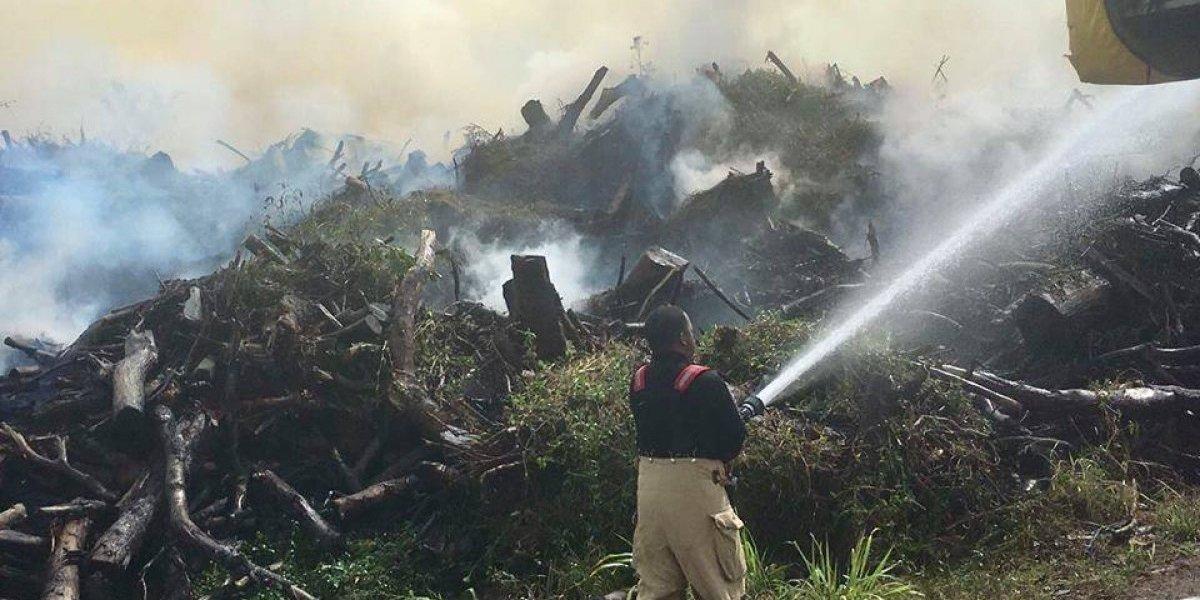 Incendio deja parte de Trujillo Alto y Carolina con olor a humo