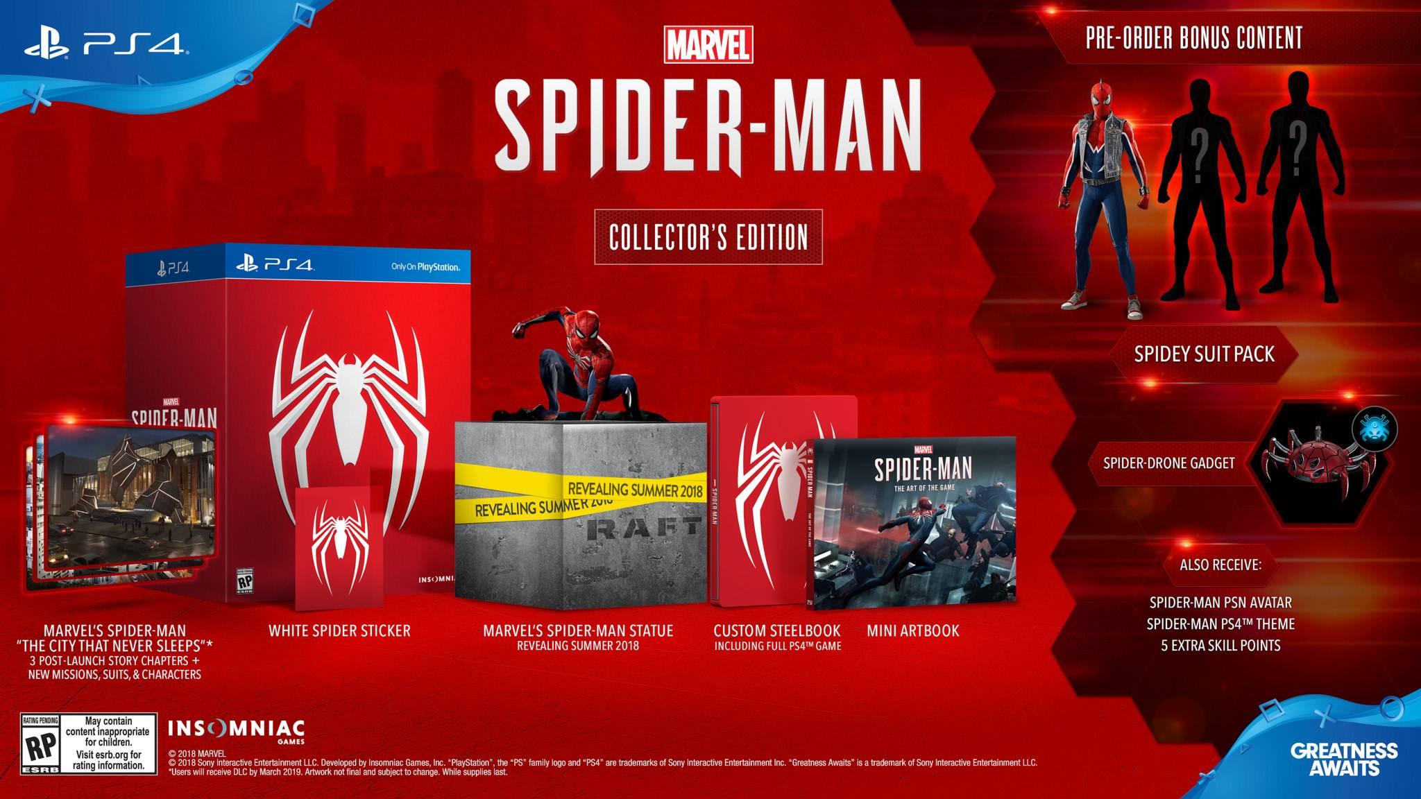 Spider-Man para PS4 con fecha de lanzamiento
