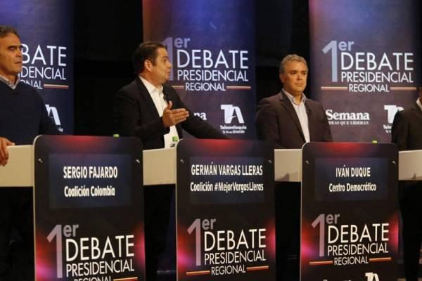 en vivo el debate presidencial de El Heraldo y Telecaribe
