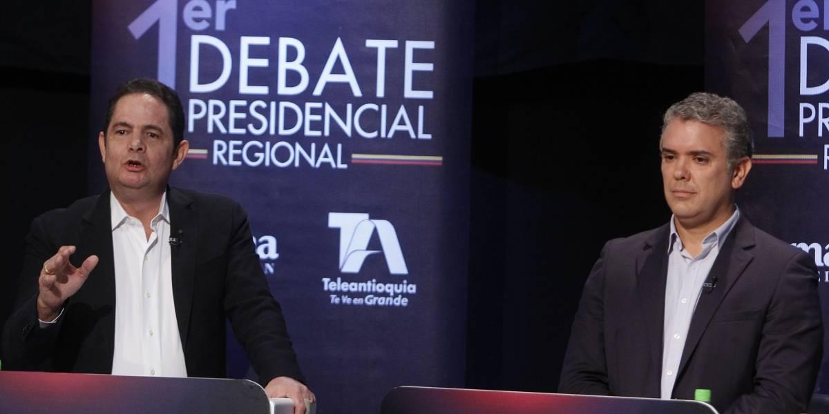 El modelo que daría una segunda vuelta entre Iván Duque y Germán Vargas Lleras