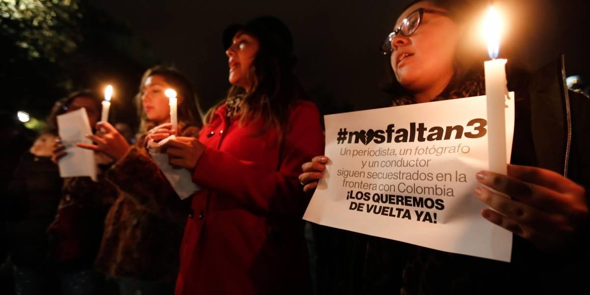 Fiscal colombiano cree periodistas secuestrados están en Ecuador