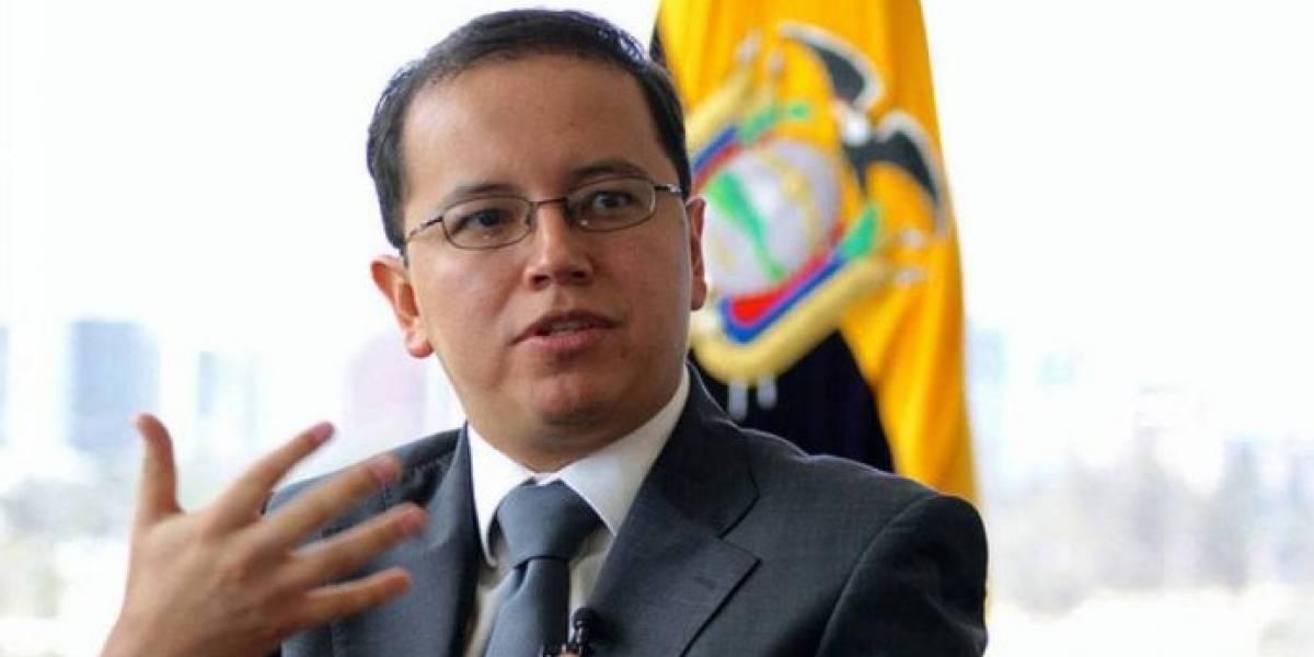 Patricio Rivera, cesado de la Superintendencia de la Economía Popular y Solidaria