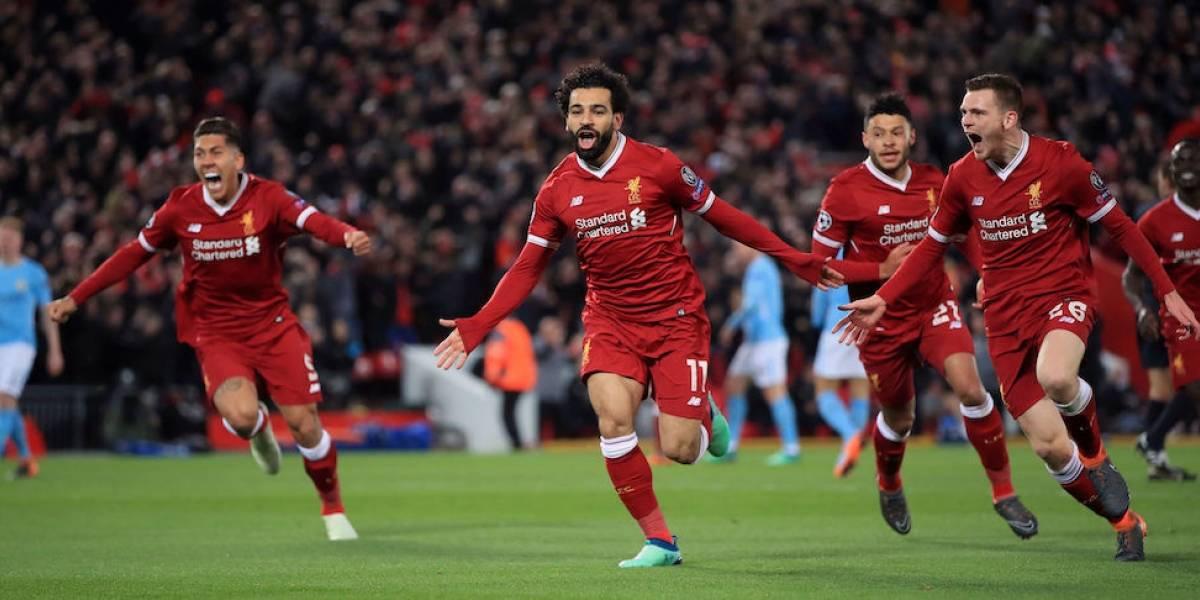 Liverpool sorprende con goleada sobre el Manchester City