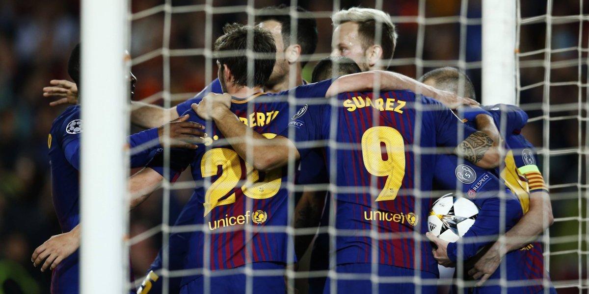 Barcelona dio otra clase magistral en la Champions tras golear a la Roma