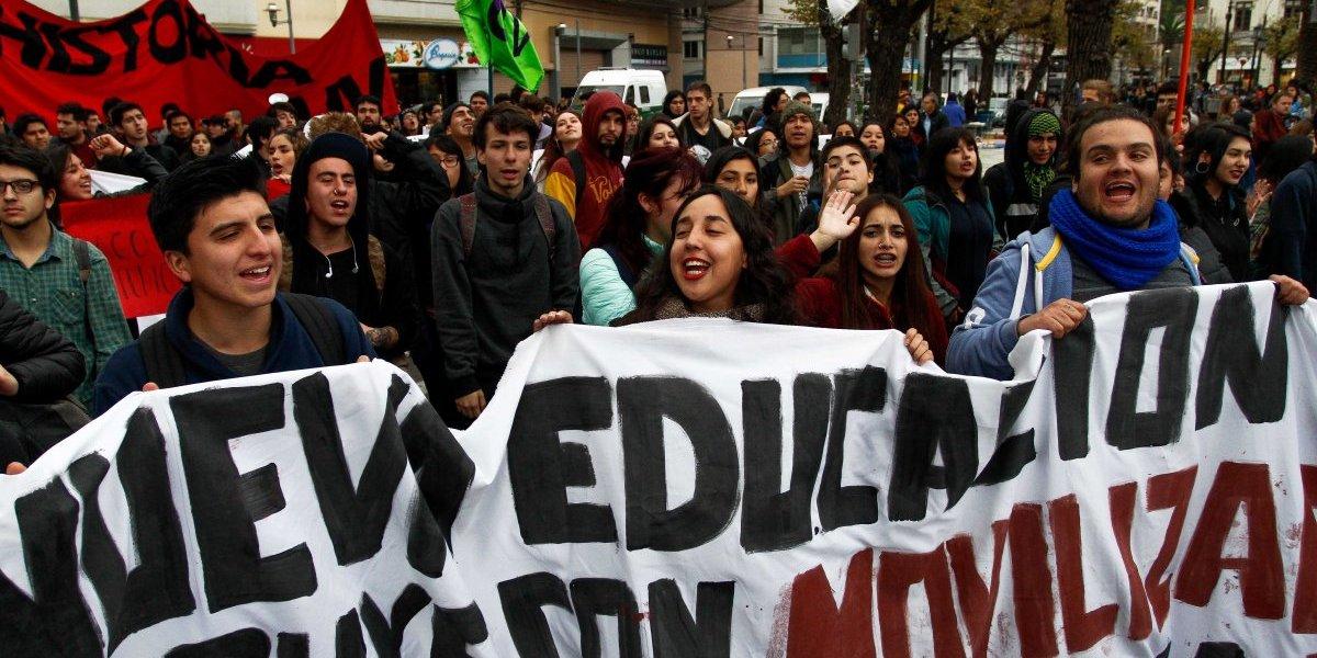 Intendencia Metropolitana autorizó recorrido de la marcha estudiantil convocada por la Confech para este jueves