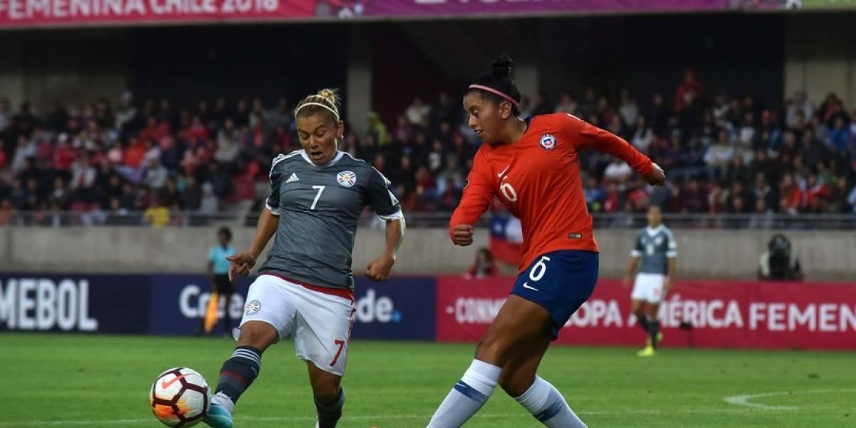 Chile logró un empate con gusto a poco ante Paraguay en su debut en la Copa América Femenina