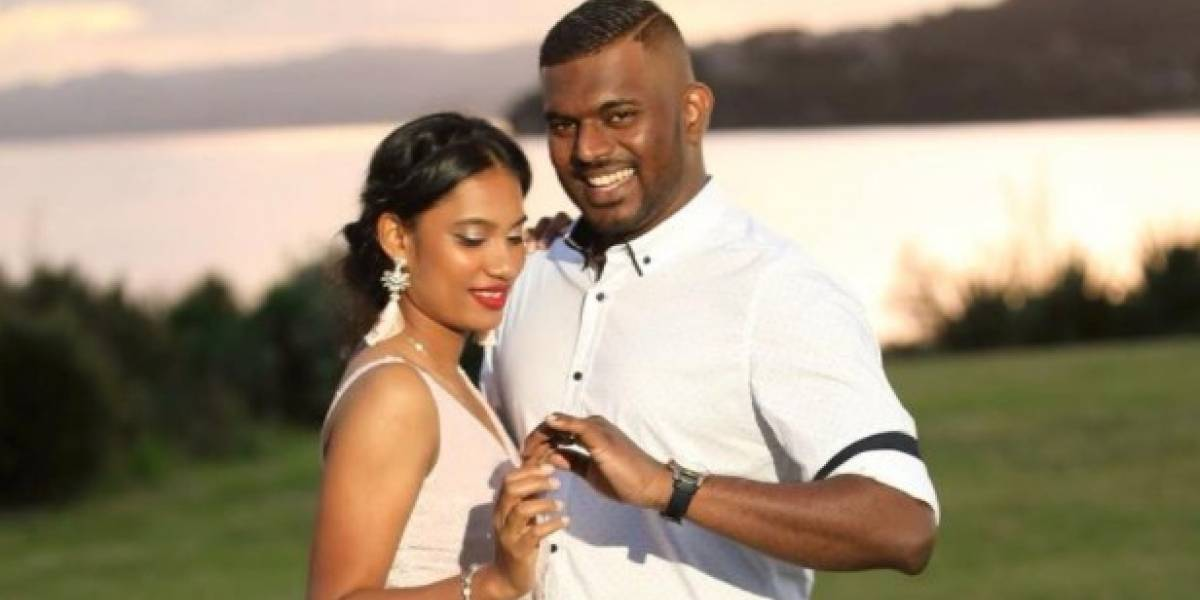 La fiesta se transformó en tragedia: Viajaron a Fiji para celebrar su boda, pero terminaron en el funeral del padre y la hermana del novio