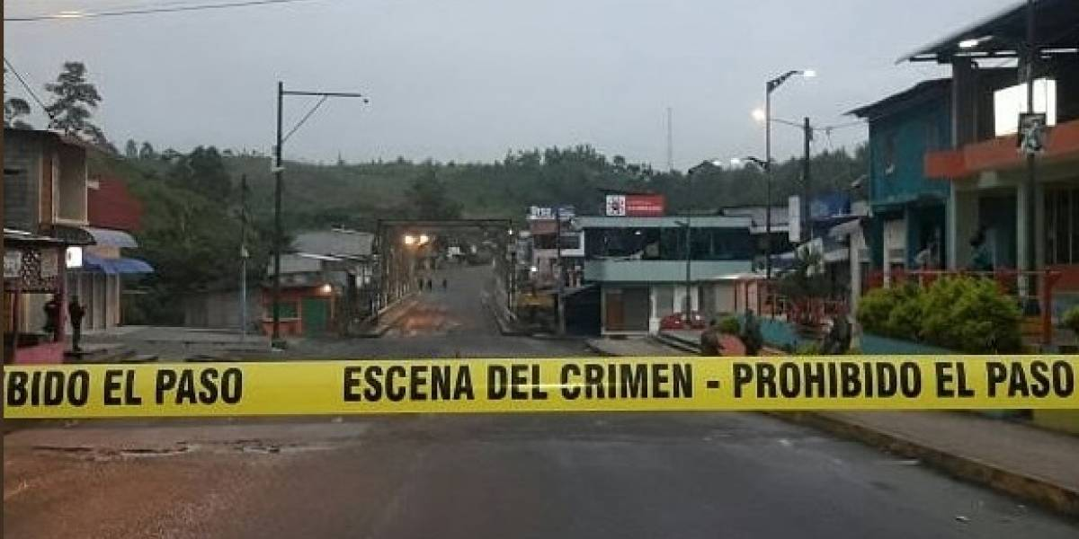 Reportan explosión en alrededores del puente de Viche, Esmeraldas (COMUNICADO OFICIAL)