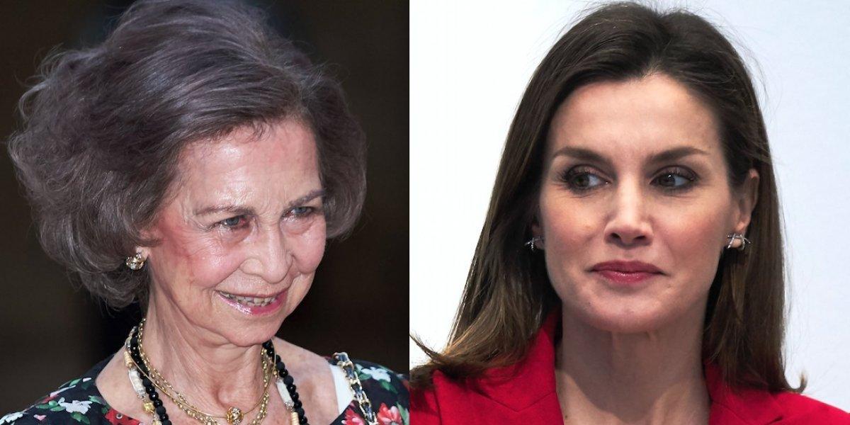 Choque de reinas en España: ¿la princesa Leonor responsable del encontrón entre Letizia y Sofía?