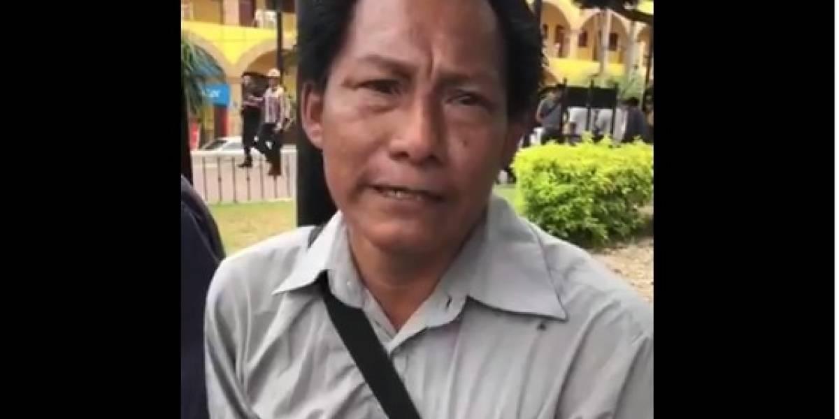 Localizan con vida el periodista Fabián Hipólito, desaparecido en Veracruz