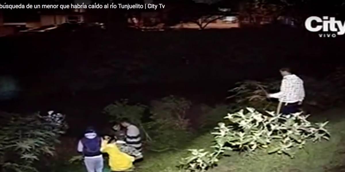 Sigue la búsqueda de joven que habría caído al río Tunjuelito