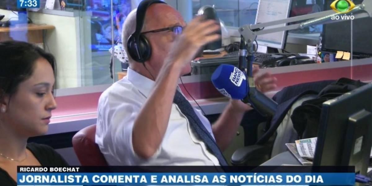 Boechat: Não estamos decidindo o destino do Brasil hoje