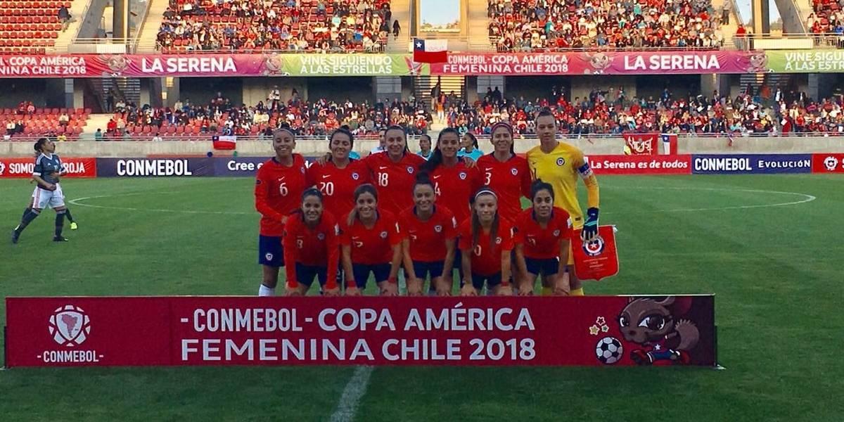 Así vivimos el empate de Chile ante Paraguay en el debut en la Copa América Femenina