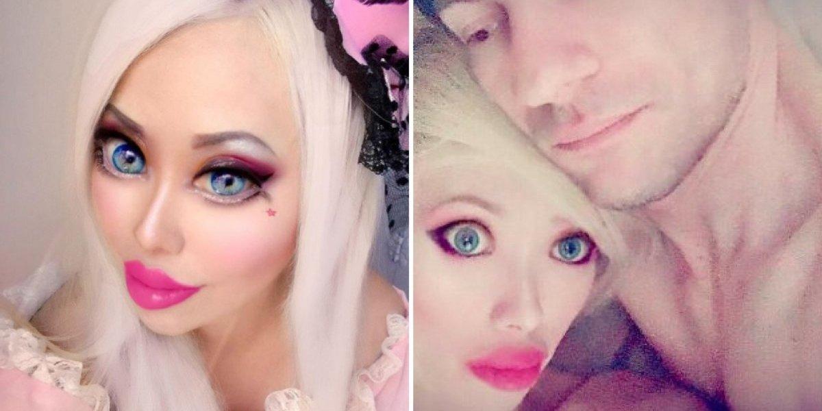 Barbie humana revela que gastou mais de 60 mil dólares em cirurgias e encontrou namorado que a apoia