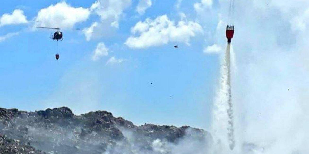 Incendio en vertedero de Duquesa fue extinguido, según Medio Ambiente