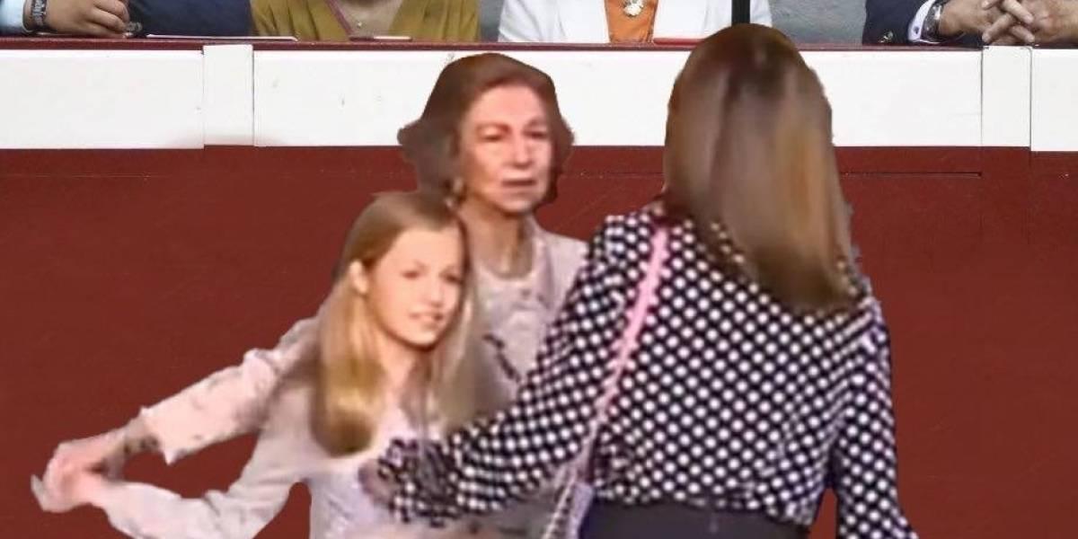 La ola de memes que dejó el enfrentamiento real entre Letizia y Sofía de España