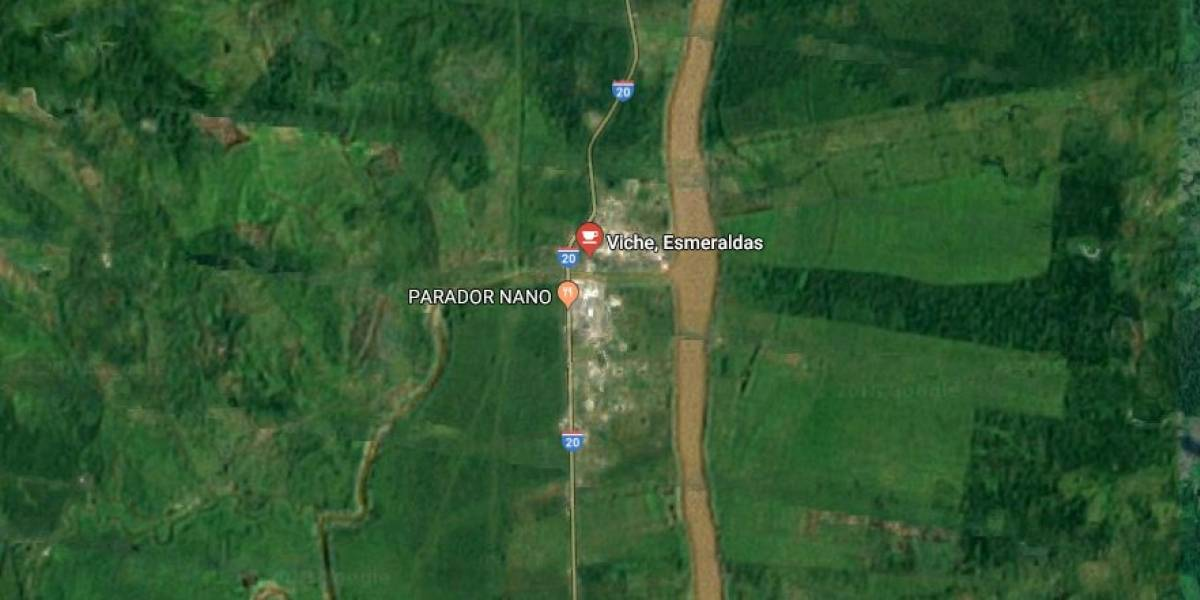 Detonación en los alrededores del puente de la parroquia Viche, Esmeraldas