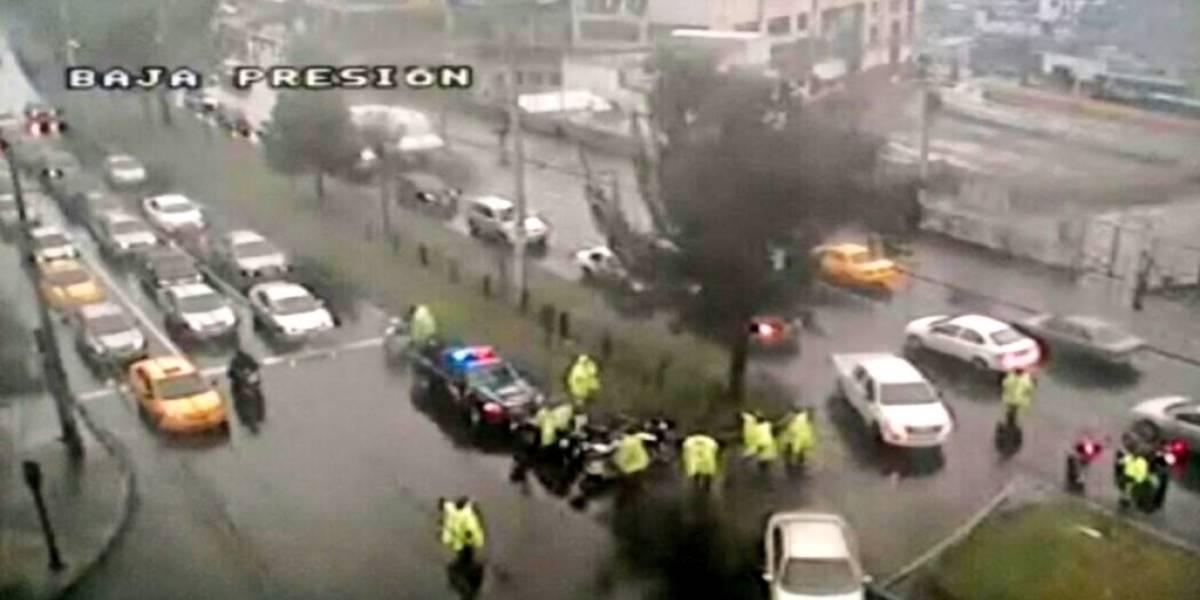 Un fallecido y tres heridos tras accidente de tránsito en sector San Carlos