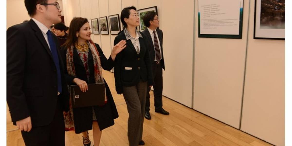 """Muestra de 120 fotografías presenta los """"cuatro mundos"""" de Ecuador en China"""