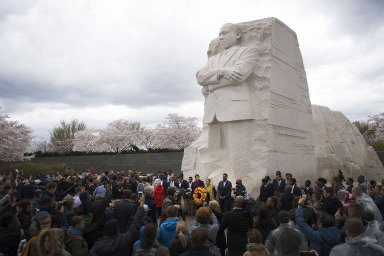 Homenajes a Martin Luther King