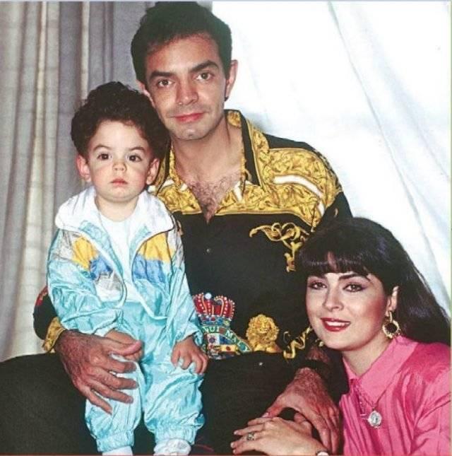 Eugenio, José Eduardo y Victoria