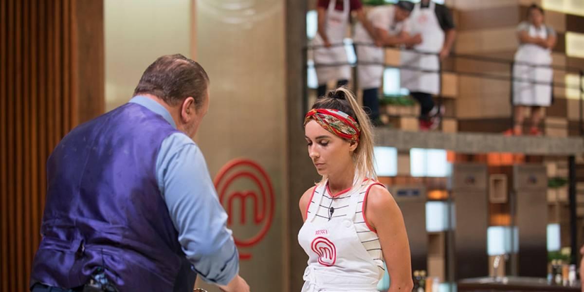 MasterChef: Brissa fica nervosa, entrega vitela crua e é eliminada do programa